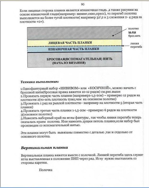 Начальный курс по обучению вязания на вязальной машине SILVER REED   - Страница 5 A95d199261c5