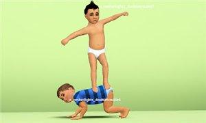 Детские позы, позы с детьми - Страница 2 38ef87123d8b