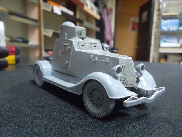 Бронеавтомобиль ФАИ-М, 1/35, (MSD 3562). 128b442932d9