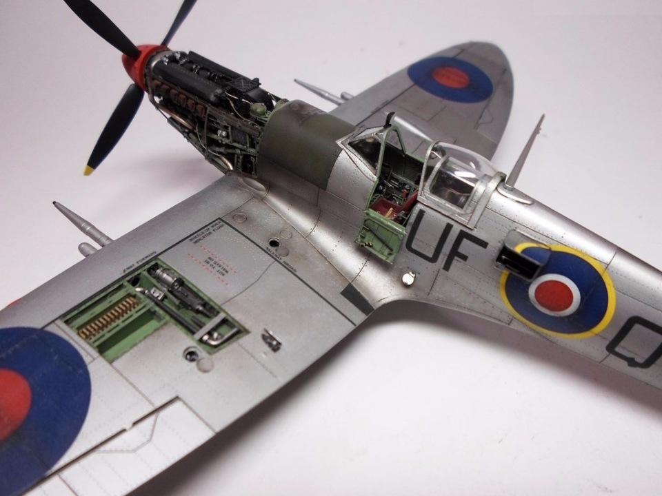 Supermarine Spitfire Eduard 1/48 1bf67991a47d