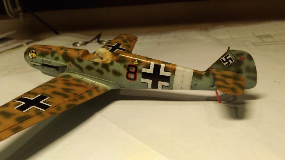 Bf 109 E7/Trop Tamiya 1:48 437f25a9cd70