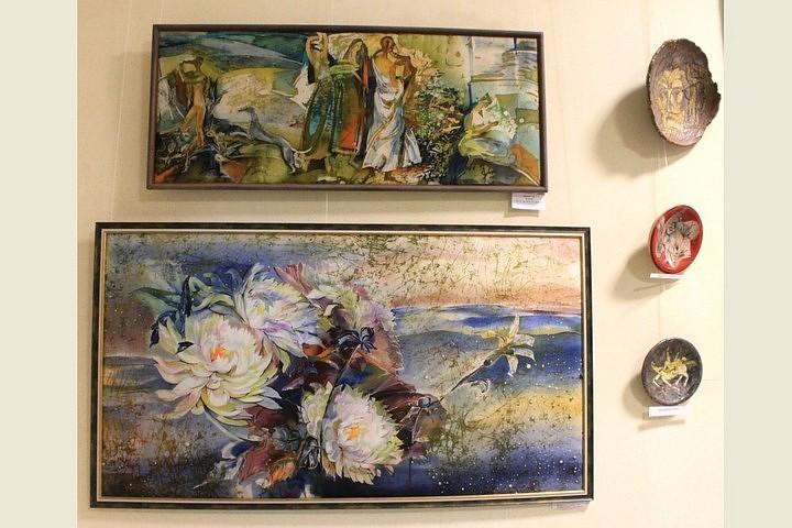 В Рязани открылась выставка батика и росписи по керамике Big