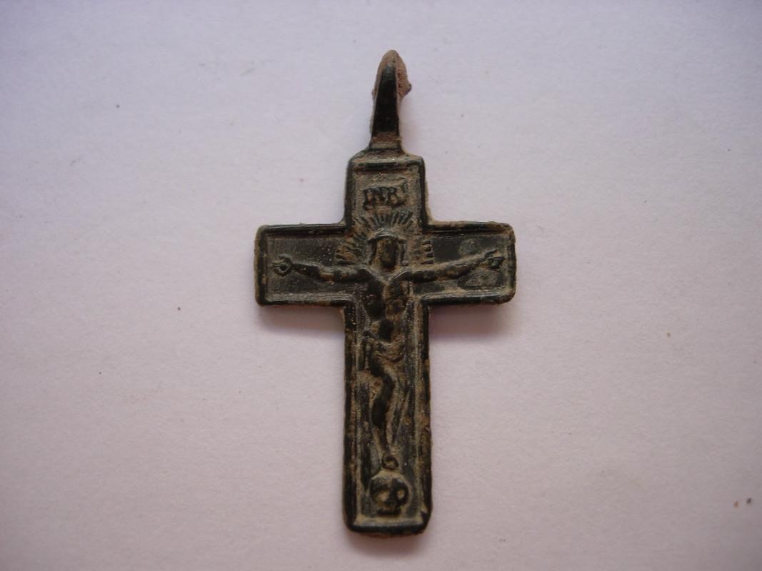 Crucifijo bifaz Inmaculada, S-XVIII C_001