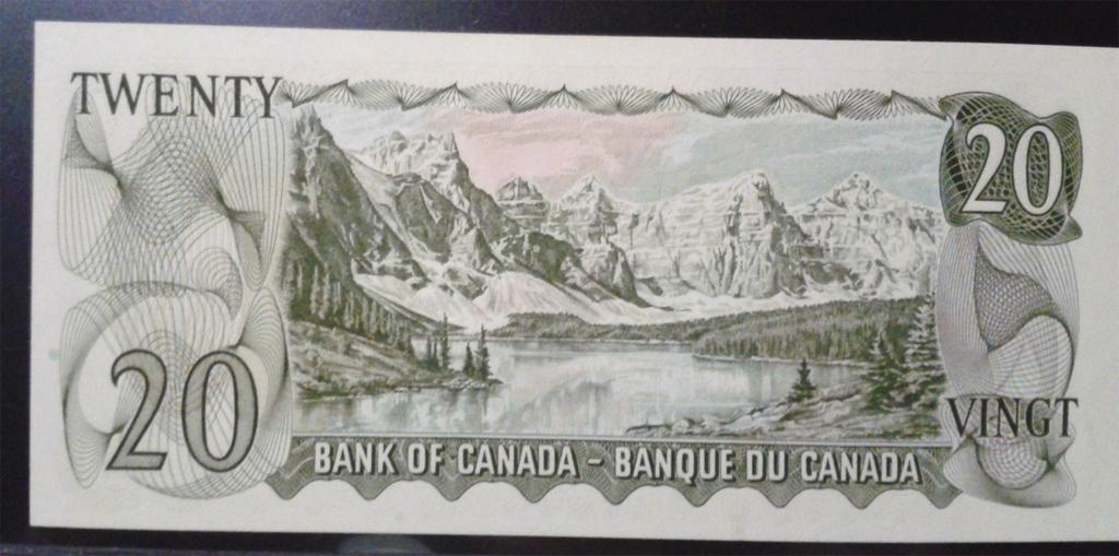 Canadá , 20 Dólares 1969 . Cnd89br