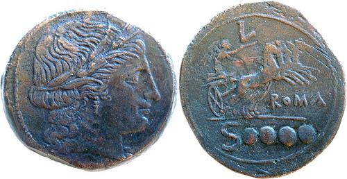Denominación de monedas en la antigua Roma: La República. 0_0dextans_repu
