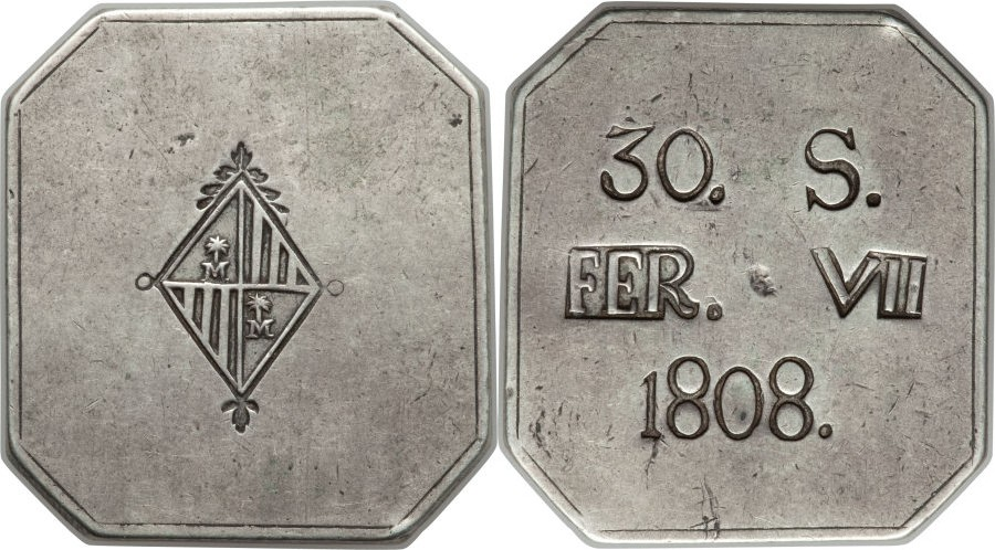 HERITAGE.Moneda Española 885367l