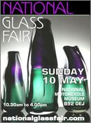UK **National Glass Fair - 10th May** National13_A5_flyerforweb