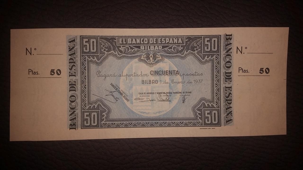 Colección de billetes españoles, sin serie o serie A de Sefcor pendientes de graduar - Página 2 20170217_203854