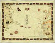 200 escudos conmemorativos 500 años de la muerte de  Joao II Principe Perfeito 1495-1995 Tratado_de_Tordesillas