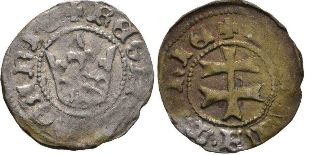 Denar de Maria de Anjou. Reino de Hungría Denar_de_Maria_Hungr_a