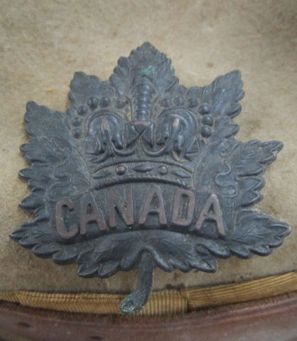 Boer War Canadian Stetson-Named 20_2