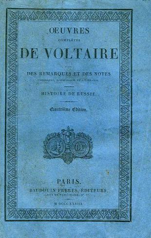 Voltaire et Islam Voltaire