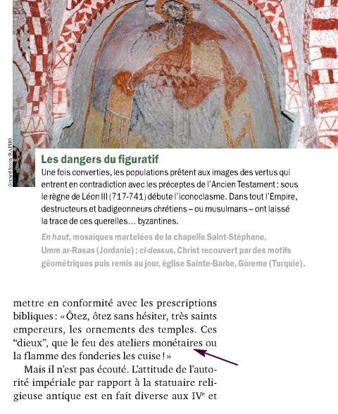 Christianisme et les oeuvres d'art antiques Image