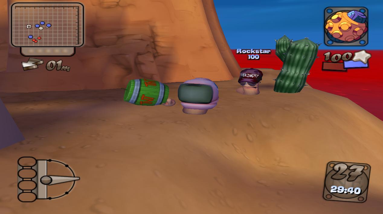 Worms 4 Mayhem Tweaking Mods - Portal Barrel_TNT