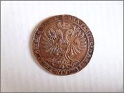 Jetón del tesorero de ceca Jean Heymans. Bruselas. 1684. Levantamiento del Sitio de Viena P1130987