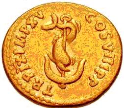 Glosario de monedas romanas. DELFIN. Image