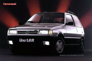 Auto Storiche in Brasile - FIAT Uno_1_6_R_Mpi_1993