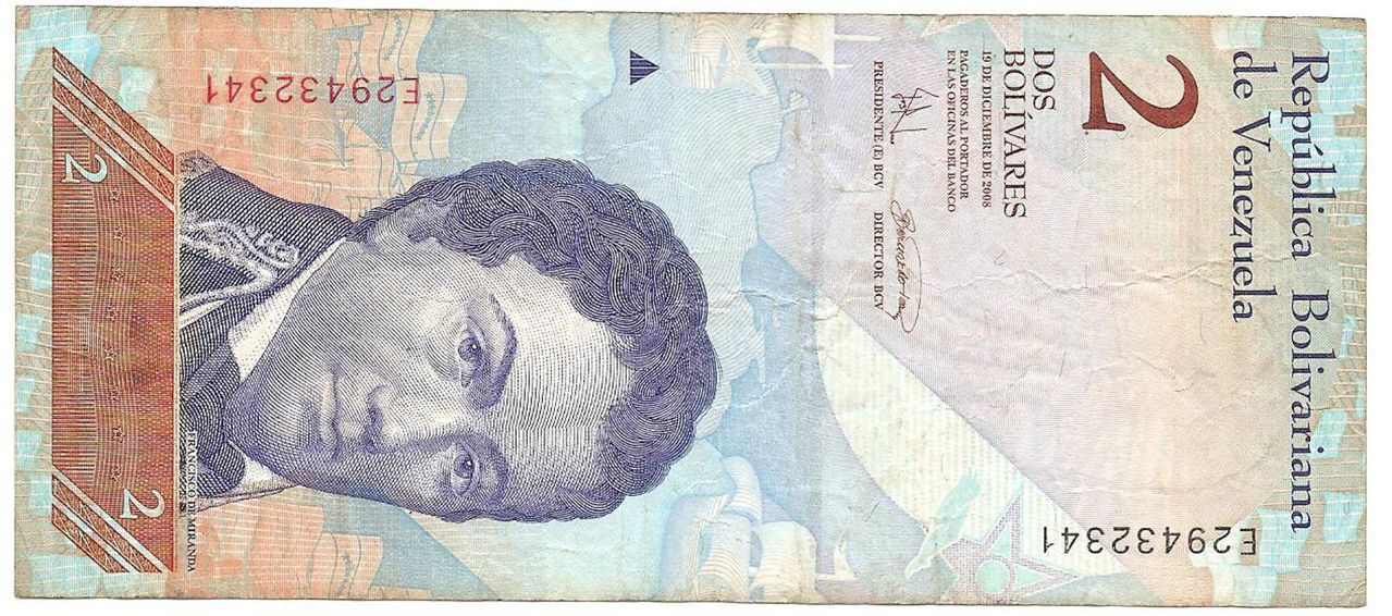 2 Bolívares Venezuela, 2008 Image