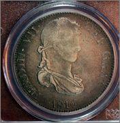 8 reales 1816 Zacatecas. Fernando VII Image