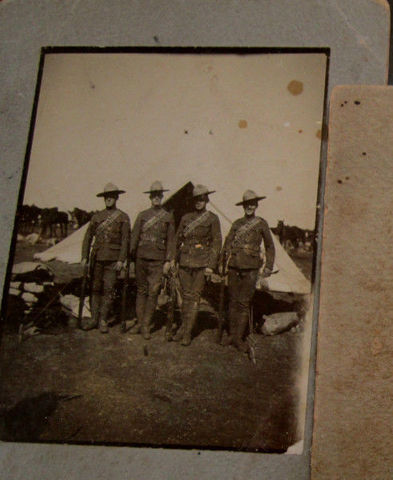Boer War Canadian Stetson-Named 20_3