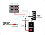 Κεντρική παροχη και Ασφαλειοθήκη Aux_relay_schematic