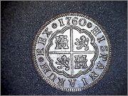 2 Reales Carlos III - 1760 - Madrid JP 211