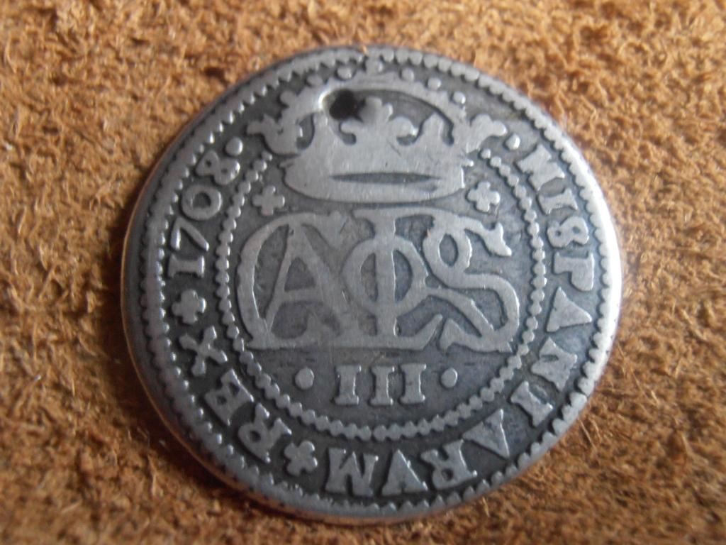 2 Reales Carlos III El Pretendiente 1708 P9120023