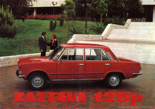 Automobili i motori u ex YU Zastava125vneo