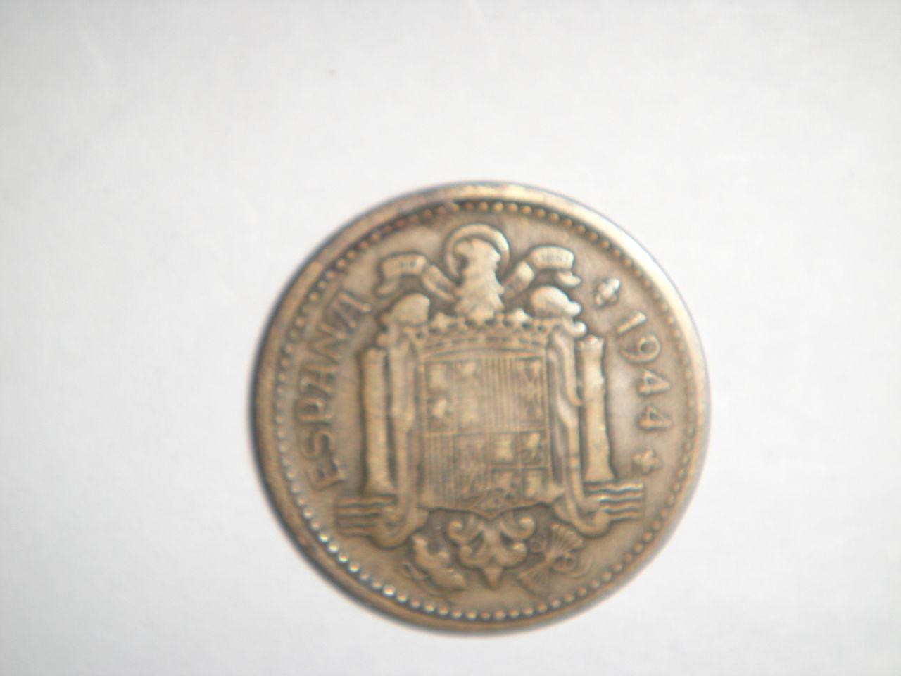 1 peseta 1944. Estado Español. DSC02729