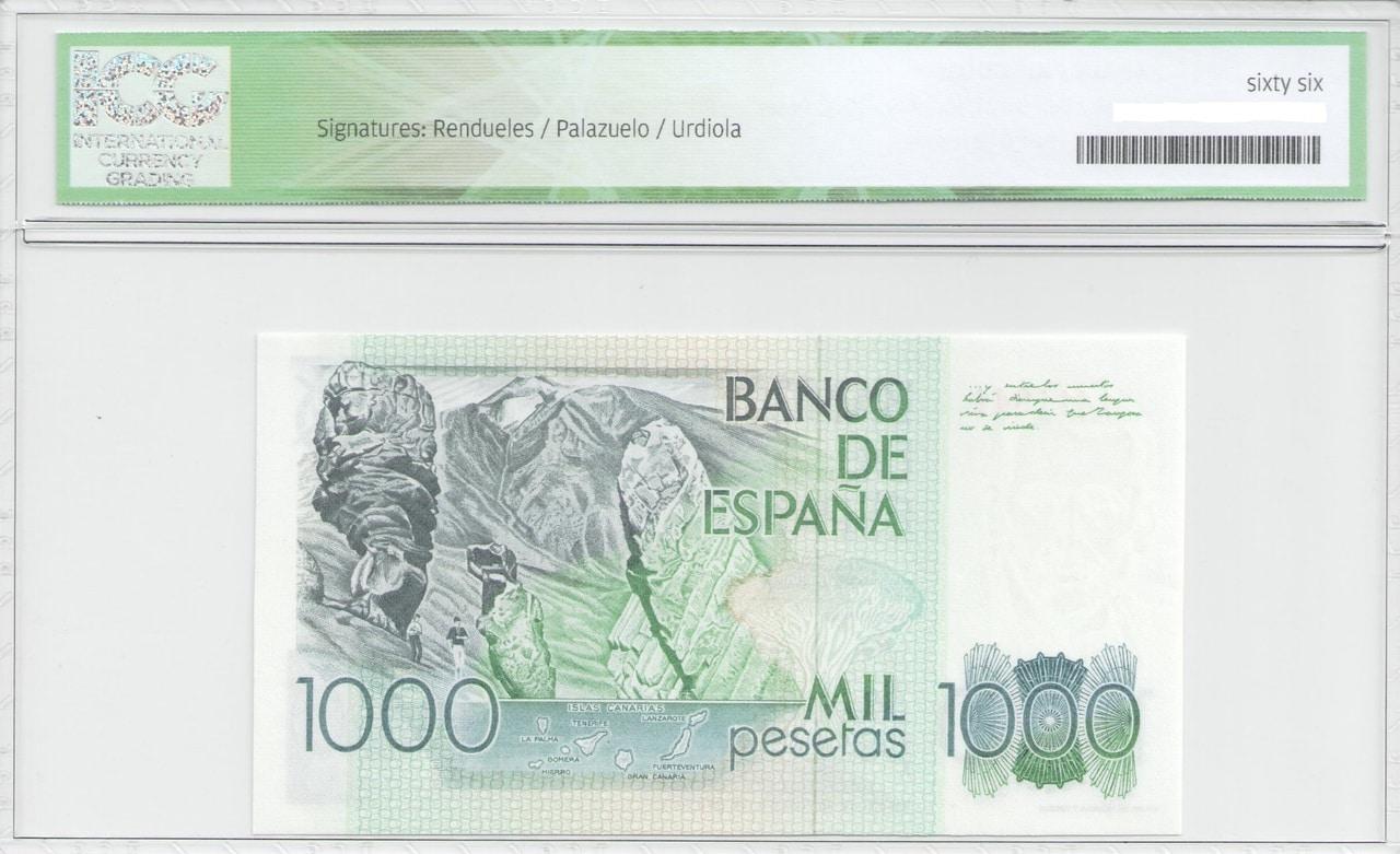 Colección de billetes españoles, sin serie o serie A de Sefcor - Página 2 1000_del_79_reverso
