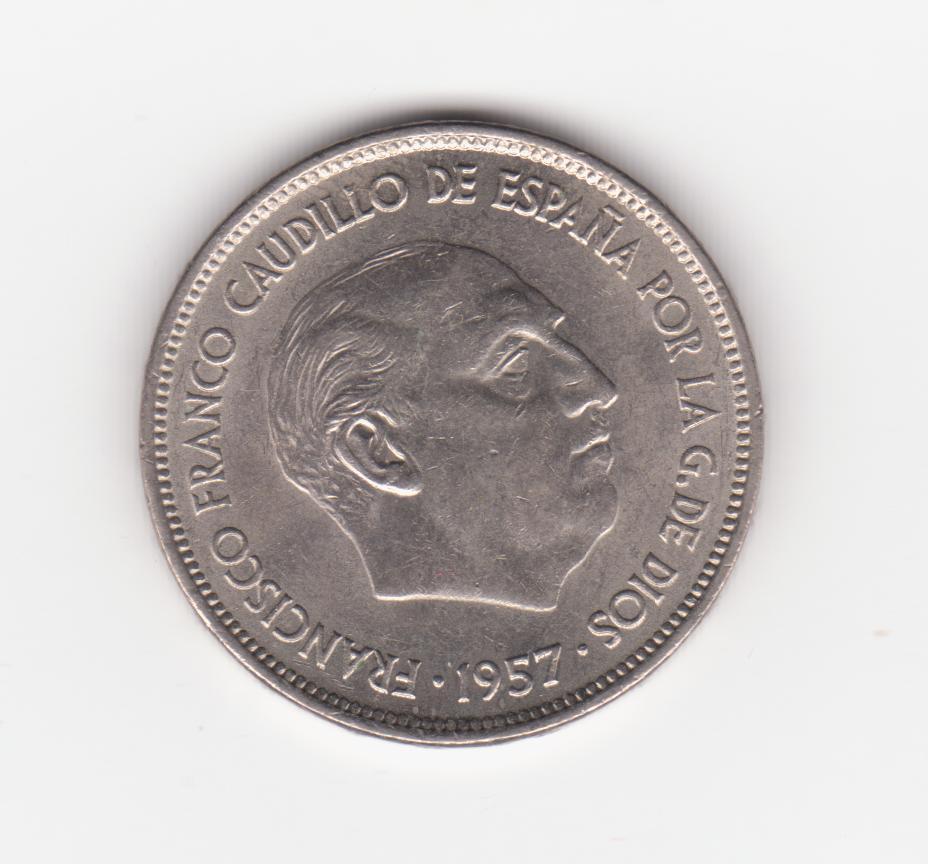 25 pesetas 1957 *71 25_pesetas_1975_71