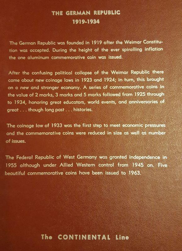 Monedas Conmemorativas de la Republica de Weimar y la Rep. Federal de Alemania 1919-1957 20170406_082217