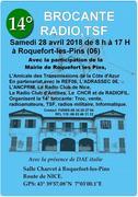 Bourse d'échange RADIO & COMMUNICATION a Roquefort les Pins 2018 Affiche
