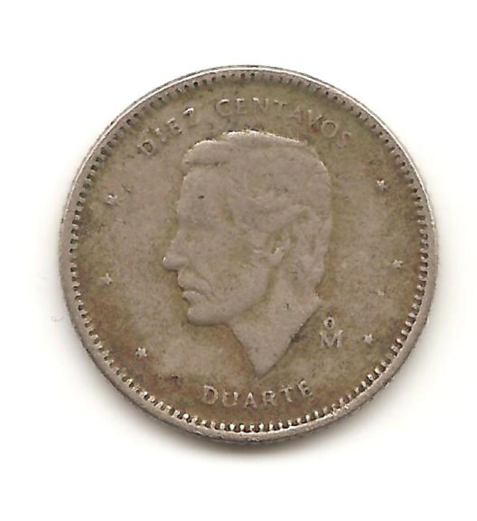 10 centavos de la Republica Dominicana año 1984 Image
