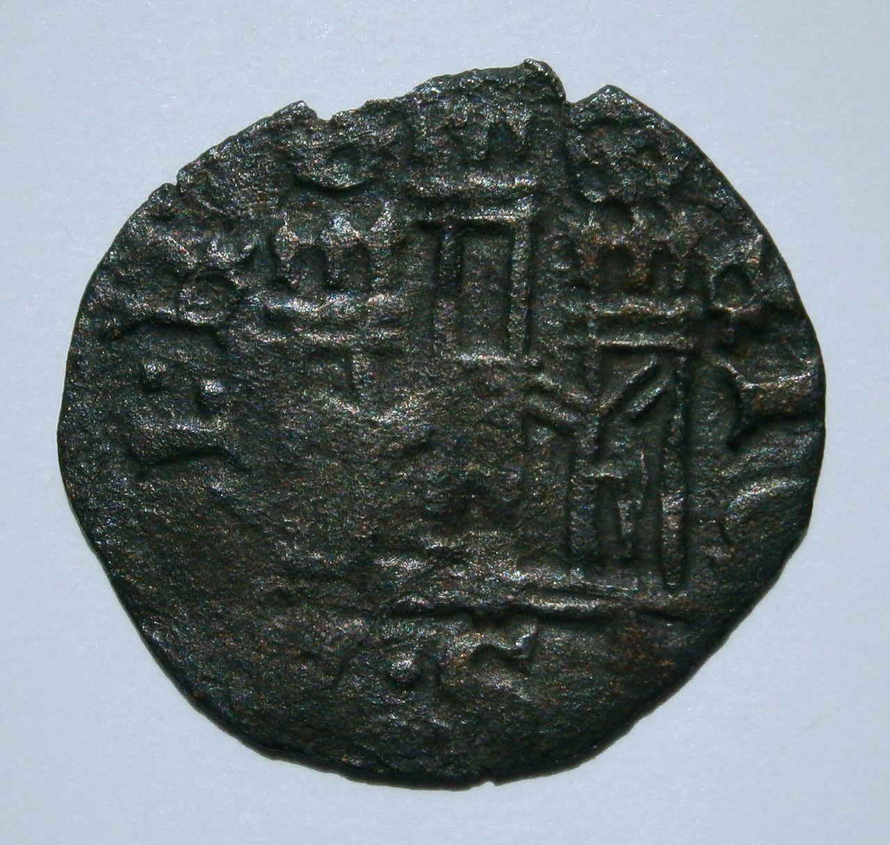Cornado de Enrique II. (1369-1379). ¿Ceca?. P1010032