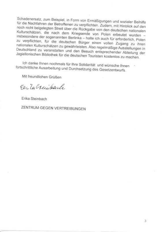 """Le SPD demandera une compensation à la Pologne pour les """"Territoires restaurés"""" Doc3"""