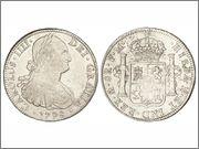 AYUDA, compra moneda 8 reales Carlos IV 0883q