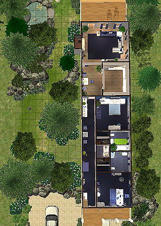 Stavba podle půdorysu Houseplan Forest_Retreat_61_pudorys