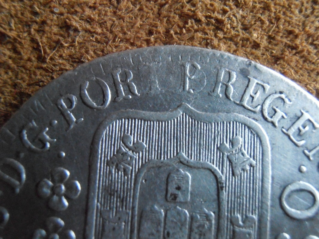 reis -  960 reis  del 1816 Juan VI P5090030