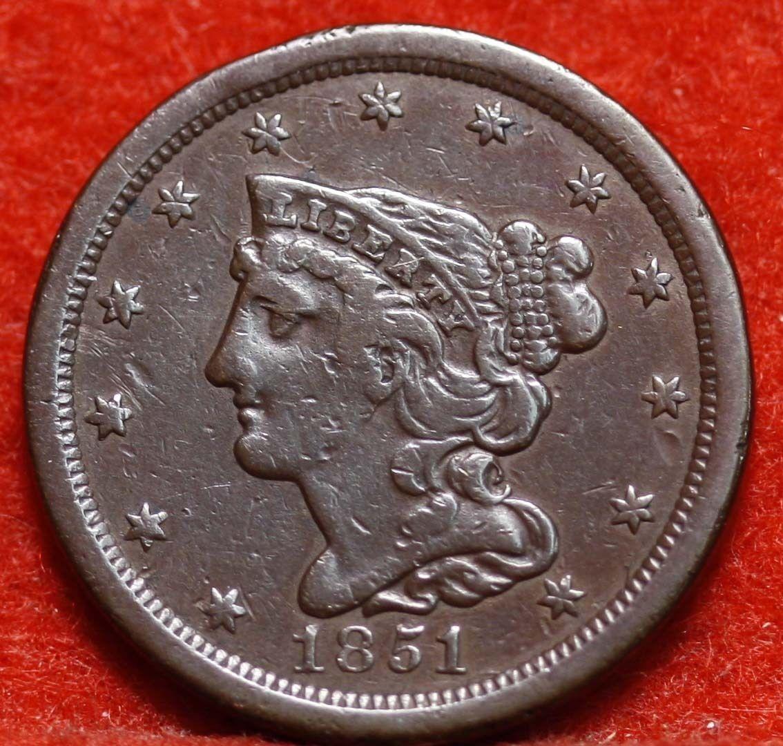 Tipo de moneda Estados Unidos 1851a