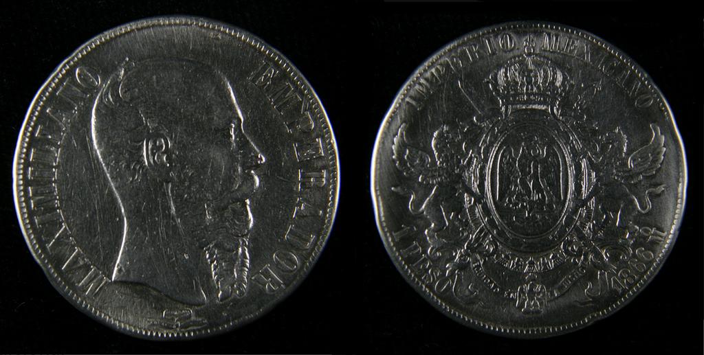 Maximiliano 1 peso 1866, real o falsificacion? KKK1