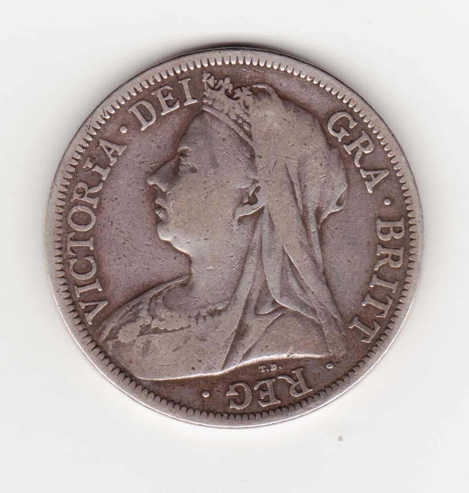 Gran Bretaña media corona, 1899  Media_corona_1899_001