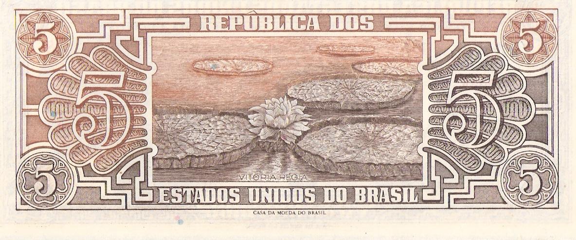5 Cruzeiros Brasil, 1962 Escanear0011