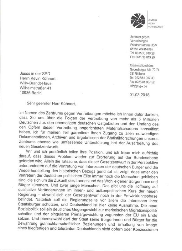 """Le SPD demandera une compensation à la Pologne pour les """"Territoires restaurés"""" Doc1"""