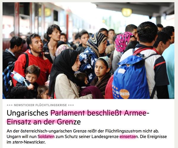 Fundstücke und 'Hinweise' auf den bevorstehenden heißen Krieg?! Ungarn