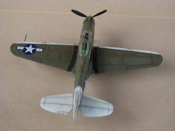 P-39Q Airacobra, 1/72, Academy (rebuild) DSC02939