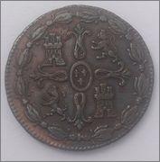 8 MARAVEDÍS 1823. FERNANDO VII. JUBIA Image