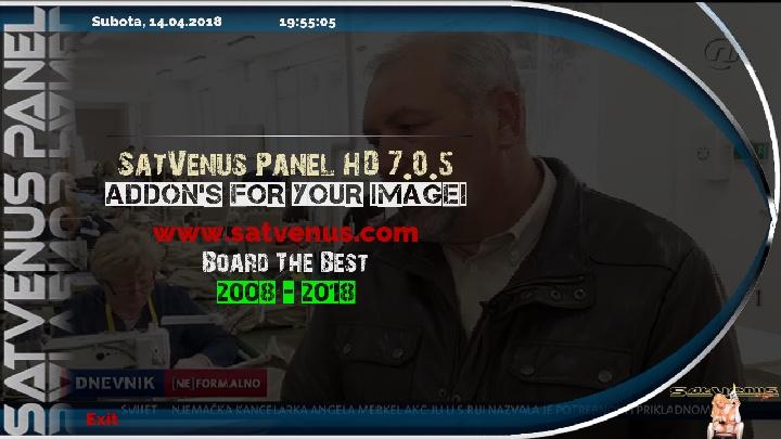 Backup Vu+Solo2 Panel1