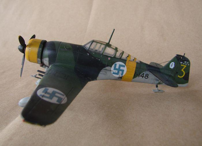 Finski Fokkeri D.XXI, Special Hobby, 1/72 DSC01480