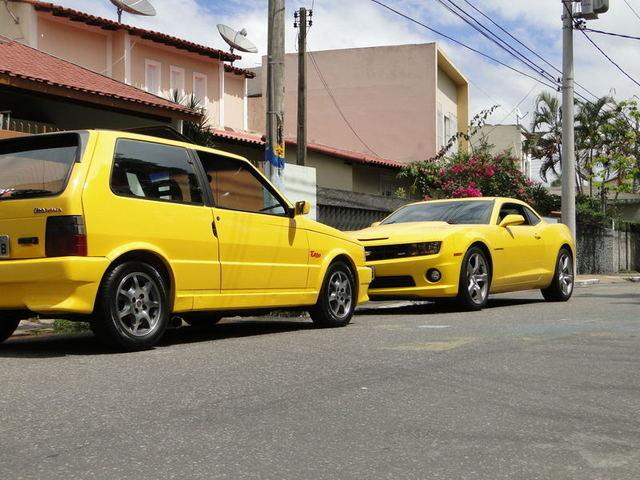 Auto Storiche in Brasile - FIAT Uno_T_Amarelo